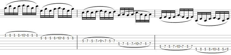legato exercise 5