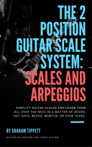 the 2 position guitar scale system scales and arpeggios