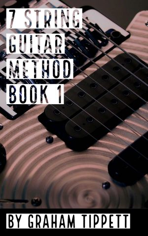 7 string guitar method book 1