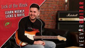 veevar guitar lick of the week