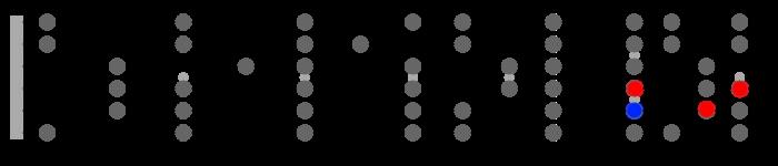 bm7b5 diatonic arpeggio