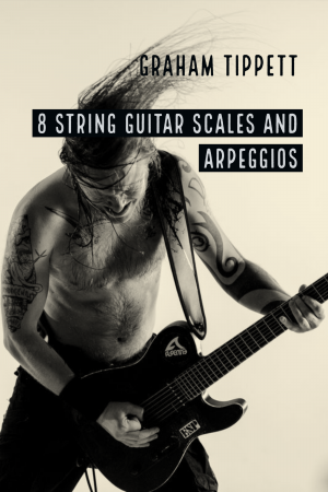 8 string guitar scales and arpeggios